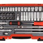Side Drive Socket Sets, Square Drive Piece Matric Set