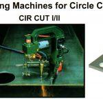 Portable Cutting Machines for Circle Cut CIR CUT I-II