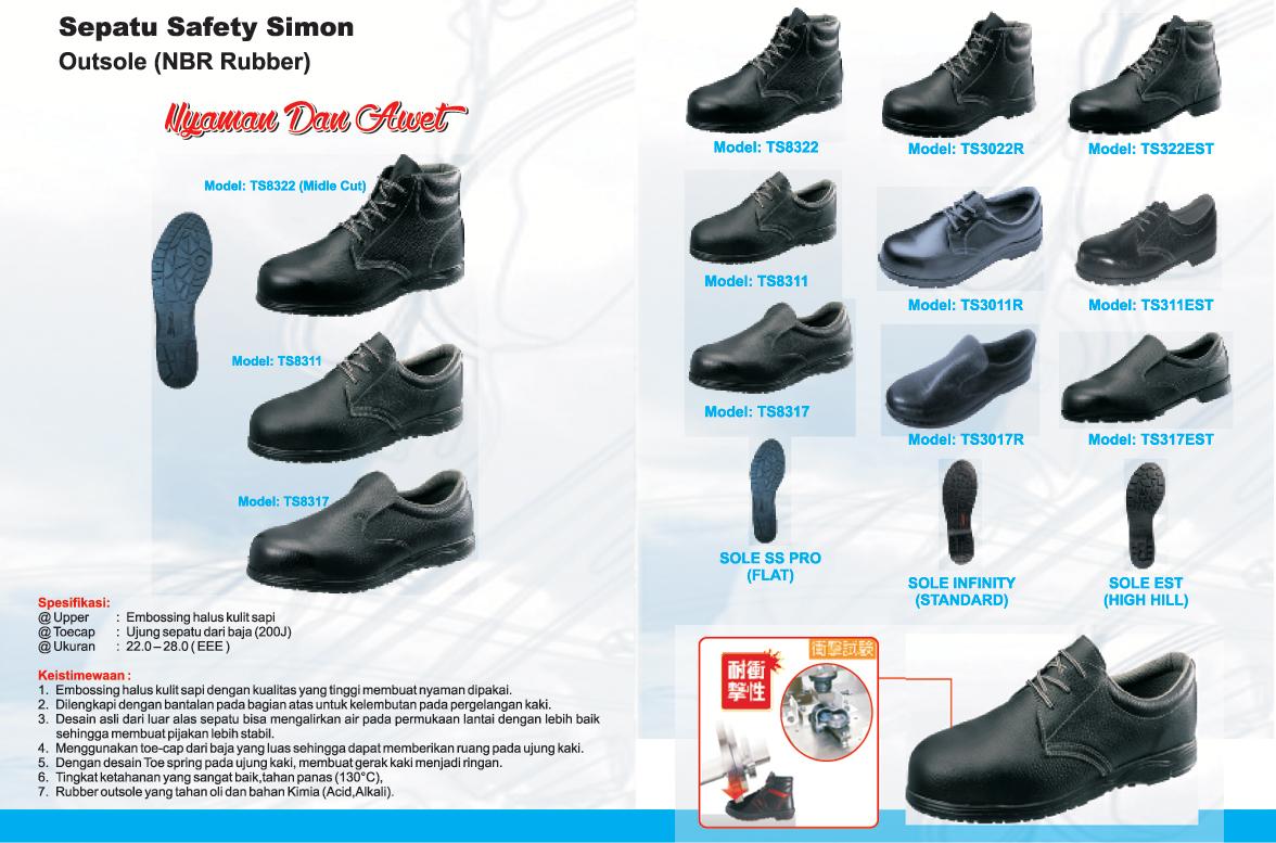 Sepatu Safety SIMON