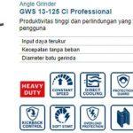 Bosch Angle Grinder GWS 13-125 CI Professional