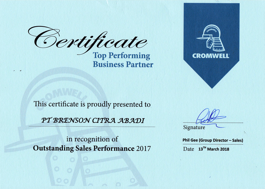 Top Performing Business Partner BCA