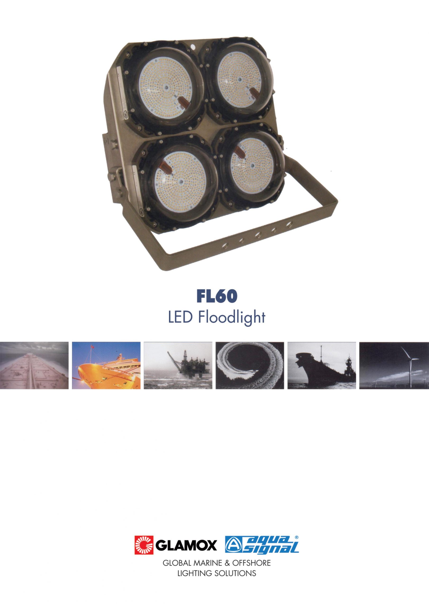 Glamox - Aqua signal - explosion proof light